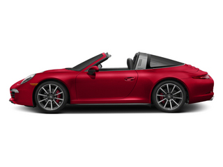 Guards Red 2014 Porsche 911 Pictures 911 Coupe 2D 4S Targa AWD photos side view
