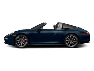 Dark Blue Metallic 2014 Porsche 911 Pictures 911 Coupe 2D 4S Targa AWD photos side view