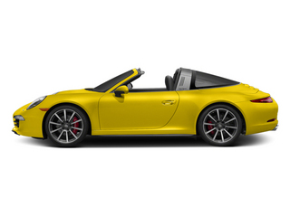Racing Yellow 2014 Porsche 911 Pictures 911 Coupe 2D 4S Targa AWD photos side view