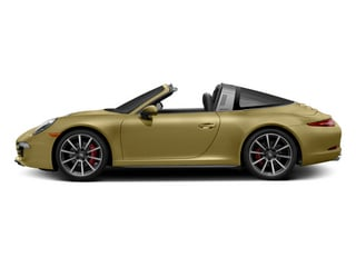 Lime Gold Metallic 2014 Porsche 911 Pictures 911 Coupe 2D 4 Targa AWD photos side view
