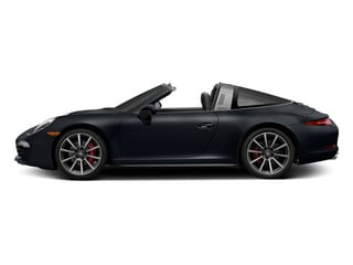 Basalt Black Metallic 2014 Porsche 911 Pictures 911 Coupe 2D 4S Targa AWD photos side view