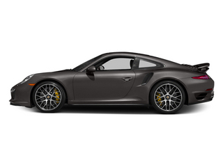 Anthracite Brown Metallic 2014 Porsche 911 Pictures 911 Coupe 2D Turbo S AWD H6 photos side view