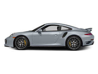 Rhodium Silver Metallic 2014 Porsche 911 Pictures 911 Coupe 2D Turbo S AWD H6 photos side view