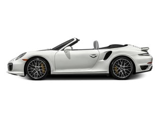 White 2014 Porsche 911 Pictures 911 Cabriolet 2D AWD H6 Turbo photos side view