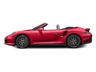 Guards Red 2014 Porsche 911 Pictures 911 Cabriolet 2D AWD H6 Turbo photos side view