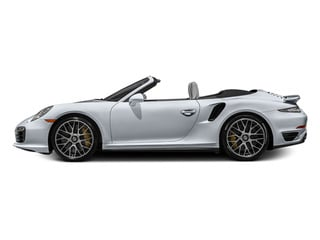 Rhodium Silver Metallic 2014 Porsche 911 Pictures 911 Cabriolet 2D AWD H6 Turbo photos side view