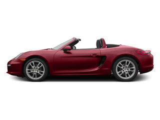 Amaranth Red Metallic 2014 Porsche Boxster Pictures Boxster Roadster 2D H6 photos side view
