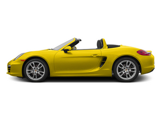 Racing Yellow 2014 Porsche Boxster Pictures Boxster Roadster 2D H6 photos side view