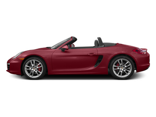 Amaranth Red Metallic 2014 Porsche Boxster Pictures Boxster Roadster 2D S H6 photos side view
