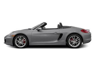 GT Silver Metallic 2014 Porsche Boxster Pictures Boxster Roadster 2D S H6 photos side view