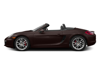 Mahogany Metallic 2014 Porsche Boxster Pictures Boxster Roadster 2D S H6 photos side view