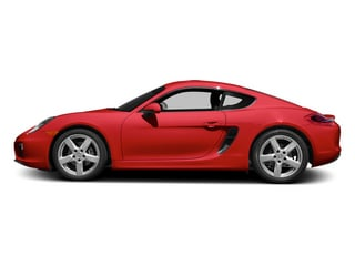 Guards Red 2014 Porsche Cayman Pictures Cayman Coupe 2D H6 photos side view