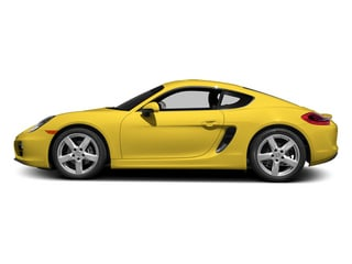 Racing Yellow 2014 Porsche Cayman Pictures Cayman Coupe 2D H6 photos side view