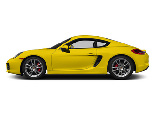 Racing Yellow 2014 Porsche Cayman Pictures Cayman Coupe 2D S H6 photos side view