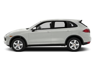 White 2014 Porsche Cayenne Pictures Cayenne Utility 4D Platinum AWD V6 T-Diesel photos side view