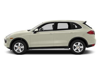 Carrara White Metallic 2014 Porsche Cayenne Pictures Cayenne Utility 4D Platinum AWD V6 T-Diesel photos side view