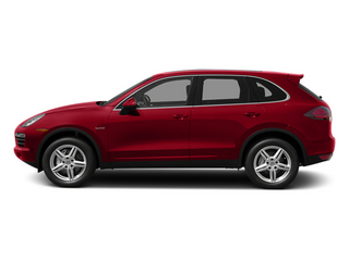 Carmine Red 2014 Porsche Cayenne Pictures Cayenne Utility 4D S AWD Hybrid V6 photos side view