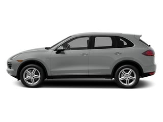 Classic Silver Metallic 2014 Porsche Cayenne Pictures Cayenne Utility 4D S AWD Hybrid V6 photos side view