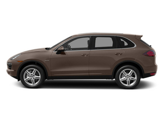 Umber Metallic 2014 Porsche Cayenne Pictures Cayenne Utility 4D S AWD Hybrid V6 photos side view