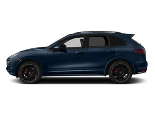 Dark Blue Metallic 2014 Porsche Cayenne Pictures Cayenne Utility 4D GTS AWD V8 photos side view