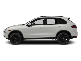 White 2014 Porsche Cayenne Pictures Cayenne Utility 4D AWD V8 Turbo photos side view