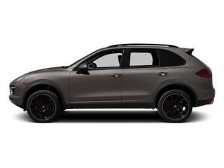 Meteor Gray Metallic 2014 Porsche Cayenne Pictures Cayenne Utility 4D AWD V8 Turbo photos side view