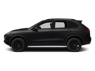Black 2014 Porsche Cayenne Pictures Cayenne Utility 4D AWD V8 Turbo photos side view