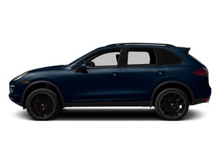 Dark Blue Metallic 2014 Porsche Cayenne Pictures Cayenne Utility 4D AWD V8 Turbo photos side view