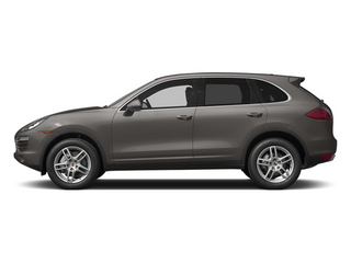 Meteor Gray Metallic 2014 Porsche Cayenne Pictures Cayenne Utility 4D AWD V6 photos side view