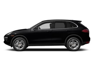 Black 2014 Porsche Cayenne Pictures Cayenne Utility 4D AWD V6 photos side view
