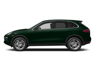 Jet Green Metallic 2014 Porsche Cayenne Pictures Cayenne Utility 4D AWD V6 photos side view