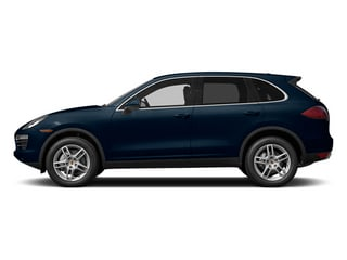 Dark Blue Metallic 2014 Porsche Cayenne Pictures Cayenne Utility 4D AWD V6 photos side view