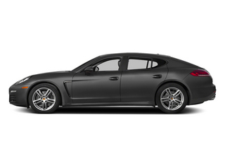 Carbon Gray Metallic 2014 Porsche Panamera Pictures Panamera Hatchback 4D S V6 Turbo photos side view