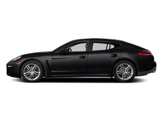Black 2014 Porsche Panamera Pictures Panamera Hatchback 4D 4S V6 Turbo photos side view