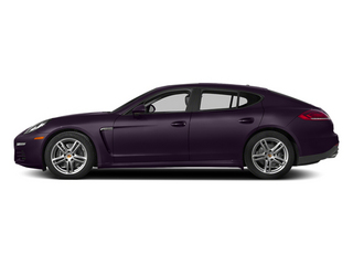 Amethyst Metallic 2014 Porsche Panamera Pictures Panamera Hatchback 4D S AWD V8 Turbo photos side view