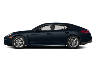 Yachting Blue Metallic 2014 Porsche Panamera Pictures Panamera Hatchback 4D S AWD V8 Turbo photos side view