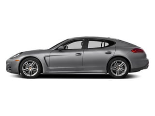 GT Silver Metallic 2014 Porsche Panamera Pictures Panamera Hatchback 4D S V6 Turbo photos side view