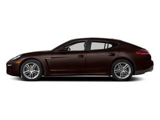 Mahogany Metallic 2014 Porsche Panamera Pictures Panamera Hatchback 4D S V6 Turbo photos side view