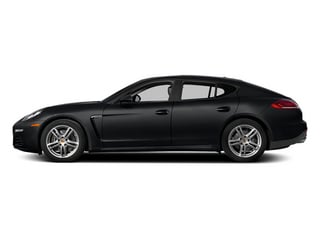 Basalt Black Metallic 2014 Porsche Panamera Pictures Panamera Hatchback 4D S AWD V8 Turbo photos side view
