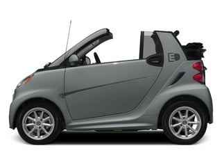 Silver Metallic 2014 smart fortwo electric drive Pictures fortwo electric drive Convertible 2D Electric photos side view