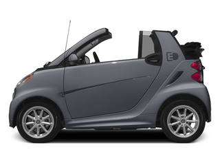 Gray Matte 2014 smart fortwo electric drive Pictures fortwo electric drive Convertible 2D Electric photos side view