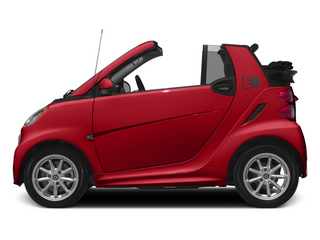 Rally Red 2014 smart fortwo electric drive Pictures fortwo electric drive Convertible 2D Electric photos side view