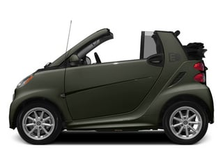 Gray Metallic 2014 smart fortwo electric drive Pictures fortwo electric drive Convertible 2D Electric photos side view