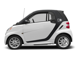 Crystal White 2014 smart fortwo electric drive Pictures fortwo electric drive Coupe 2D Electric photos side view