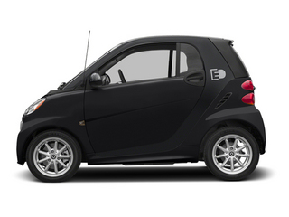 Deep Black 2014 smart fortwo electric drive Pictures fortwo electric drive Coupe 2D Electric photos side view