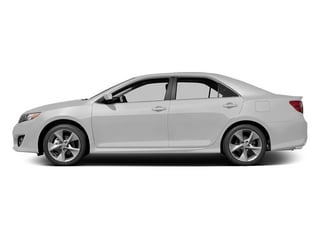 Super White 2014 Toyota Camry Pictures Camry Sedan 4D LE I4 photos side view