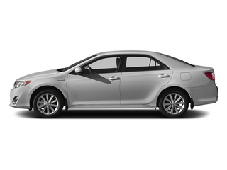 Classic Silver Metallic 2014 Toyota Camry Hybrid Pictures Camry Hybrid Sedan 4D LE I4 Hybrid photos side view