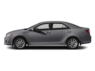 Magnetic Gray Metallic 2014 Toyota Camry Hybrid Pictures Camry Hybrid Sedan 4D LE I4 Hybrid photos side view