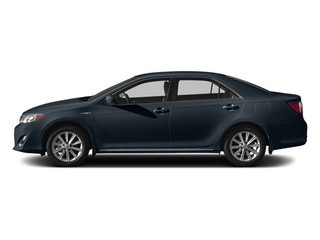 Cosmic Gray Mica 2014 Toyota Camry Hybrid Pictures Camry Hybrid Sedan 4D LE I4 Hybrid photos side view