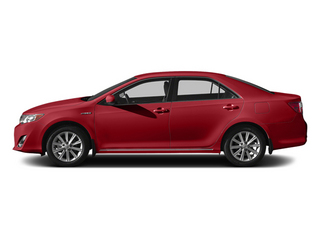 Barcelona Red Metallic 2014 Toyota Camry Hybrid Pictures Camry Hybrid Sedan 4D LE I4 Hybrid photos side view